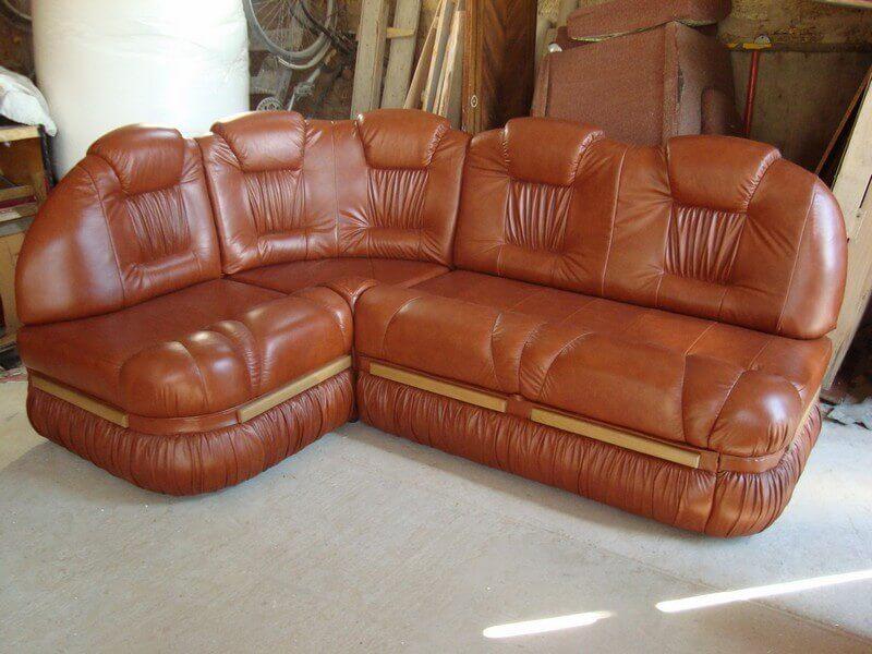 Ремонт диван кожзам своими руками