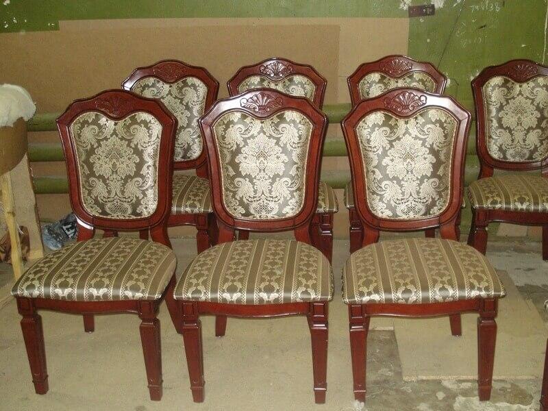Перетяжка стульев