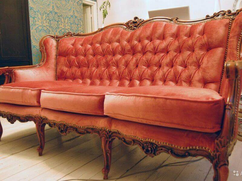 Реставрация мягкой мебели