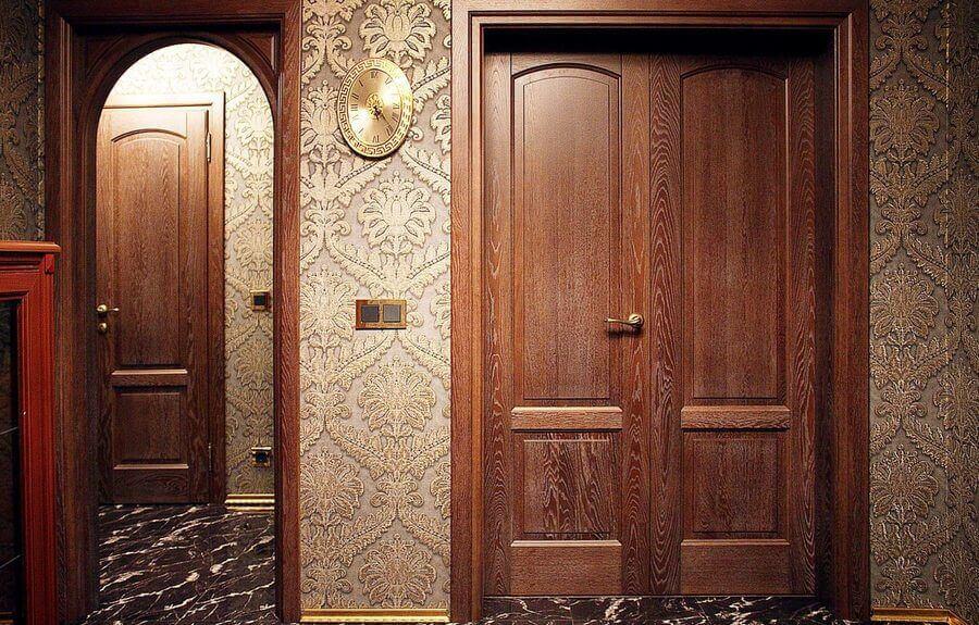 Межкомнатные двери HomeFort массив ольхи и дуба! Купить
